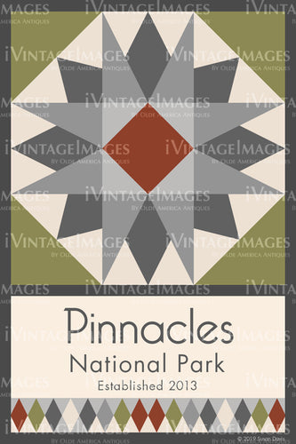 Pinnacles Quilt Block Design by Susan Davis - 72