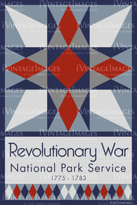 Revolutionary War Quilt Block Design by Susan Davis - 75
