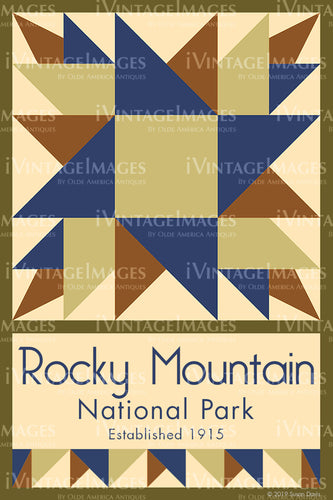 Rocky Mountain Quilt Block Design by Susan Davis - 76