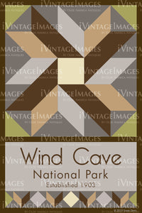 Wind Cave Quilt Block Design by Susan Davis - 85