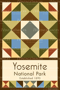 Yosemite Quilt Block Design by Susan Davis - 88