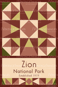 Zion Quilt Block Design by Susan Davis - 89