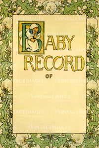 Baby Record Title Page 1907 - 003