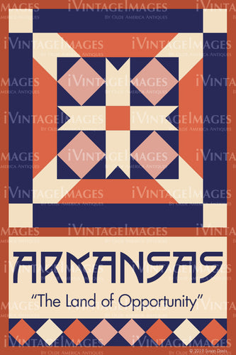 Arkansas State Quilt Block Design by Susan Davis - 4
