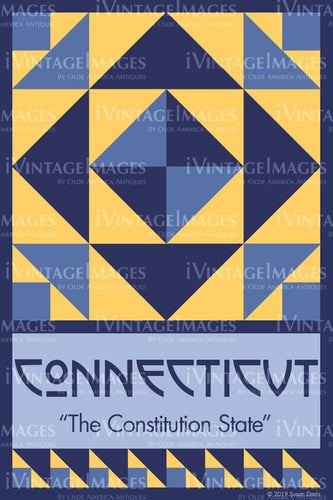 Connecticut State Quilt Block Design by Susan Davis - 7
