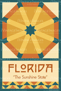 Florida State Quilt Block Design by Susan Davis - 9