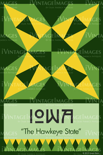 Iowa State Quilt Block Design by Susan Davis - 15