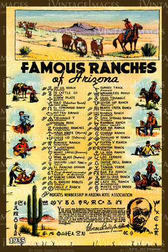 Famous Arizona Ranches 1935 - 018