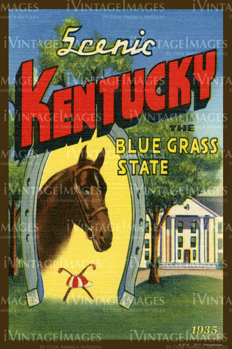 Kentucky Blue Grass State 1935 - 011
