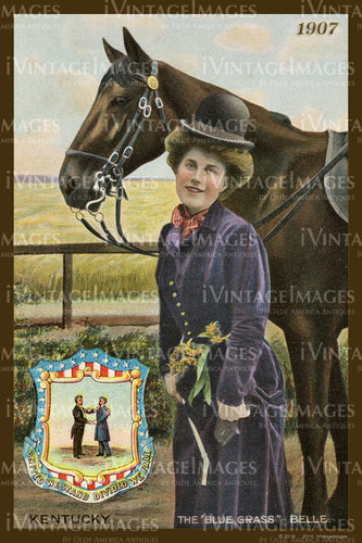 Kentucky State Woman 1907 - 012