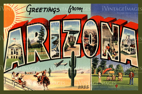 Arizona Large Letter 1930 - 003