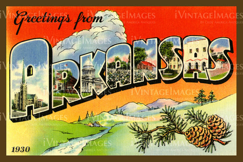 Arkansas Large Letter 1930 - 004