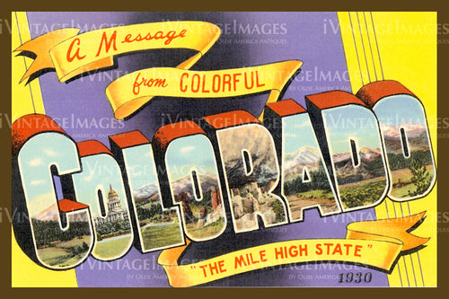 Colorado Large Letter 1930 - 006