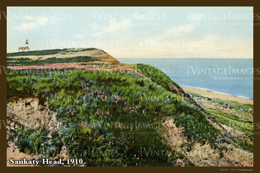 Sankaty Head Postcard 1910 - 060