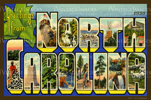 North Carolina Large Letter 1930 - 002