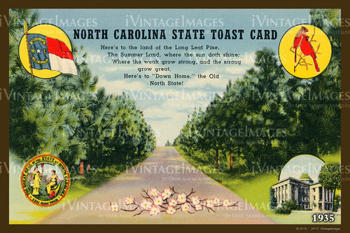 North Carolina State Toast 1935 - 031