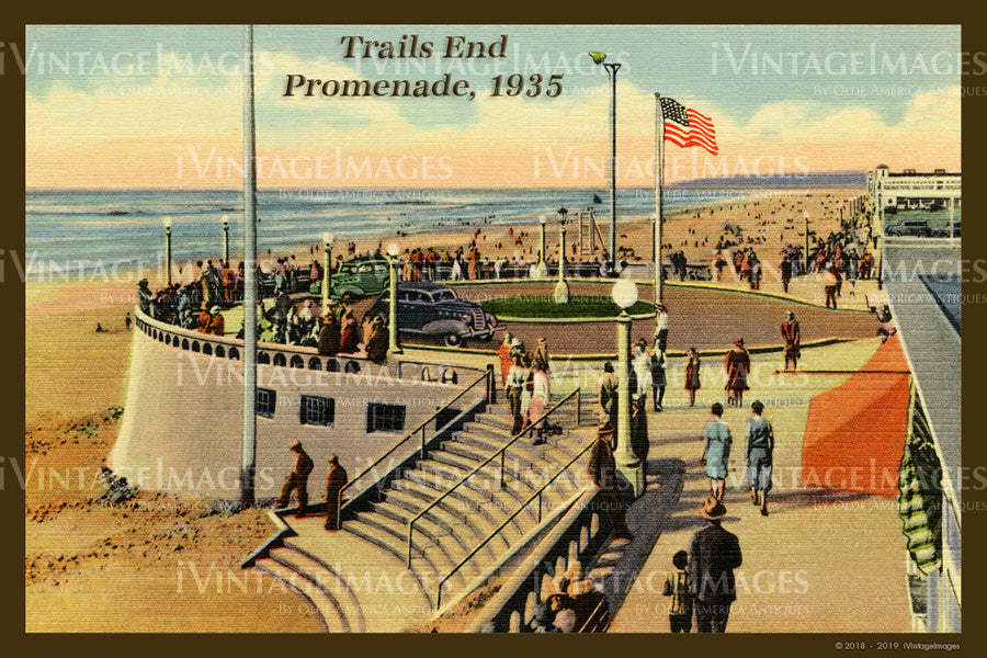 Seaside Postcard 1935 - 014