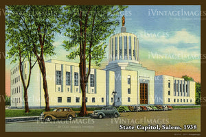 State Capitol Postcard 1938 - 053