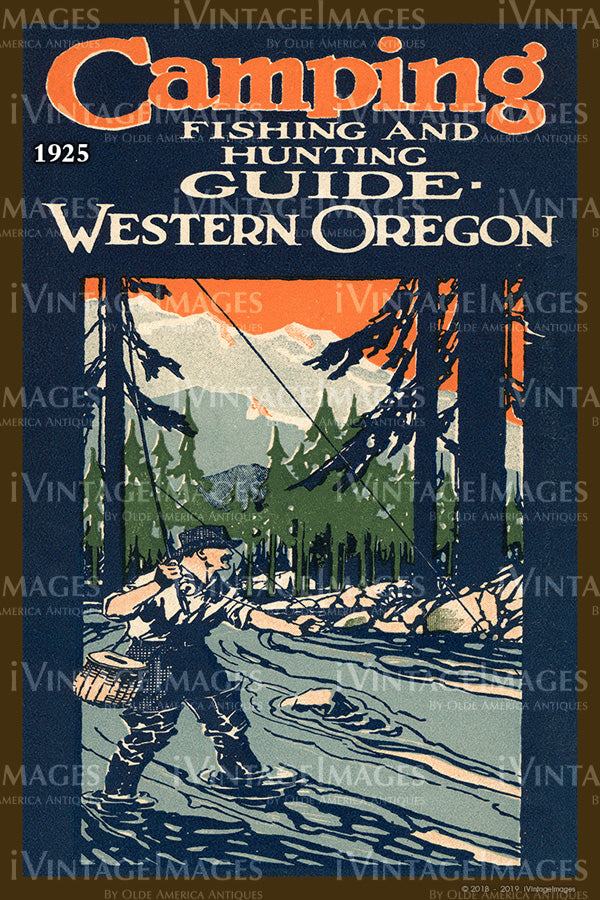 Camping Western Oregon Cover 1925 - 055