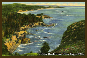 Otter Rock Postcard 1935 - 037