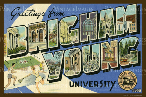 Brigham Young University Large Letter 1935 - 007