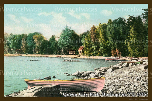 Burlington Postcard 1915 - 009