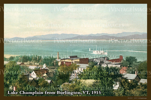 Lake Champlain Postcard 1915 - 020