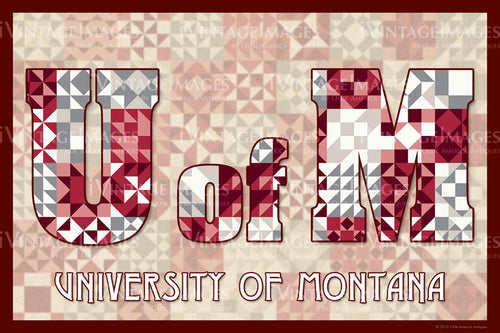 University of Montana Version 1 by Susan Davis - 050