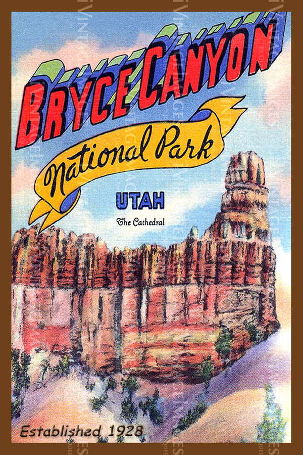 Bryce Poster 1928 - 1