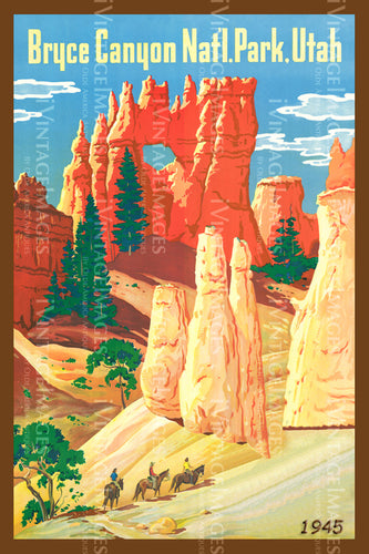 Bryce Poster 1945 - 5
