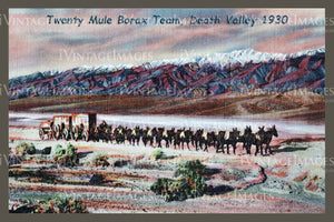 Death Valley Postcard 1930 - 3