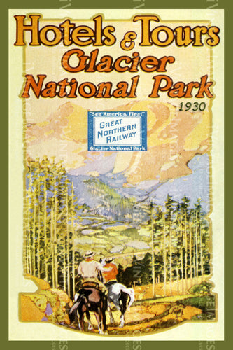 1930 Glacier National Park Hotels and Tours 2