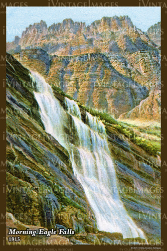 1915 Morning Eagle Falls