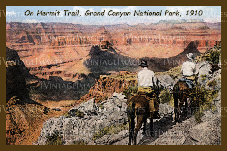 Grand Canyon Postcard 1910 - 6