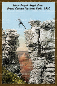 Grand Canyon Postcard 1910 - 8