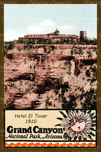 Grand Canyon Postcard 1910 - 10