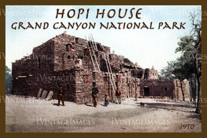 Grand Canyon Postcard 1910 - 13