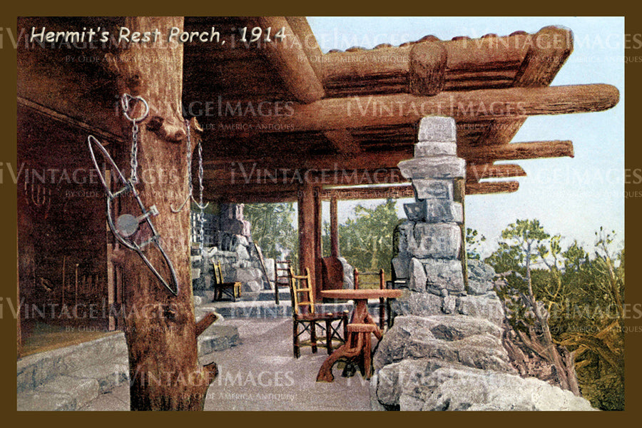 Grand Canyon Postcard 1914 - 19
