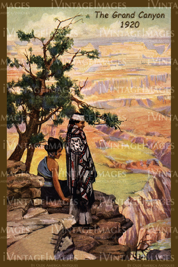 Grand Canyon Poster 1920 - 30