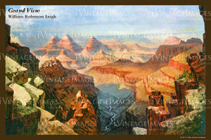 Grand Canyon Painting 1910 - 35
