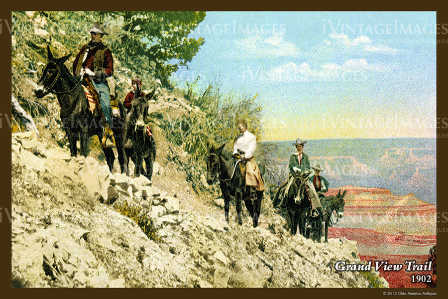 Grand Canyon Postcard 1902 - 41