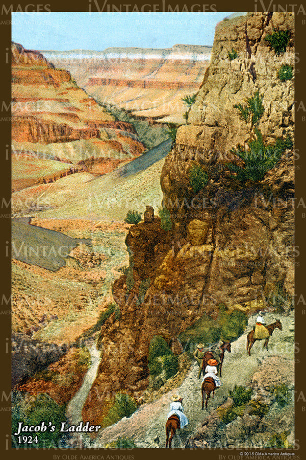 Grand Canyon Postcard 1924 - 44
