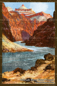 Grand Canyon Painting 1925 - 45