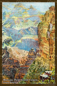 Grand Canyon Painting 1925 - 46
