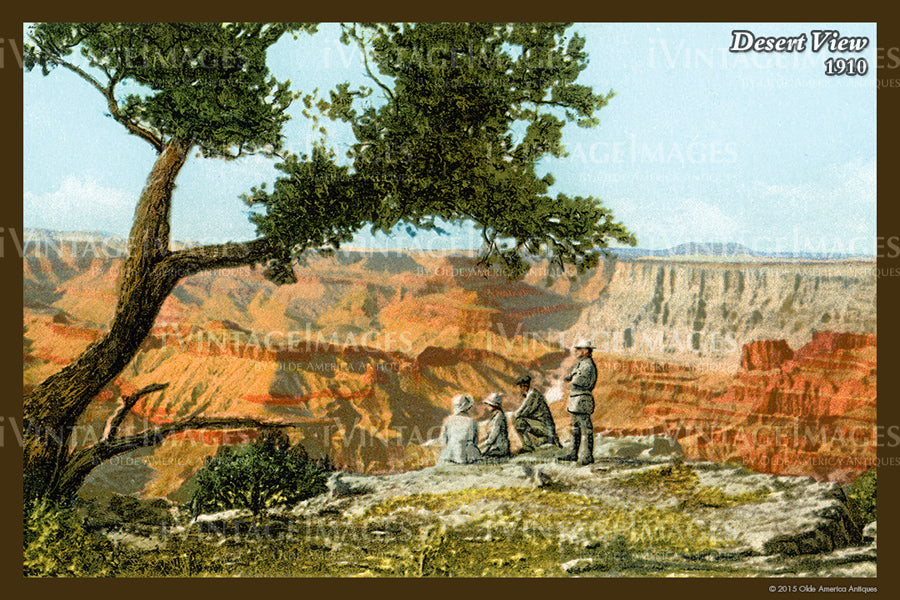 Grand Canyon Postcard 1910 - 47
