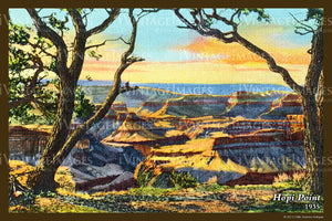 Grand Canyon Postcard 1935 - 49