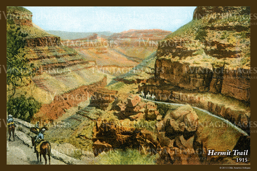 Grand Canyon Postcard 1915 - 50
