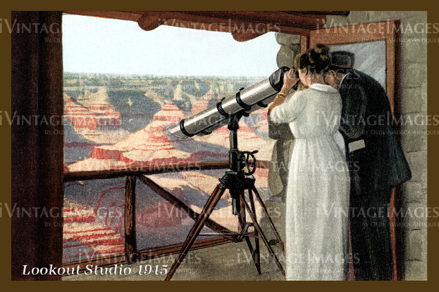 Grand Canyon Postcard 1915 - 58