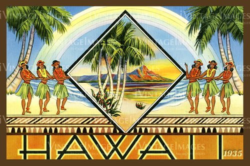 Hawaii Postcard 1935 - 9