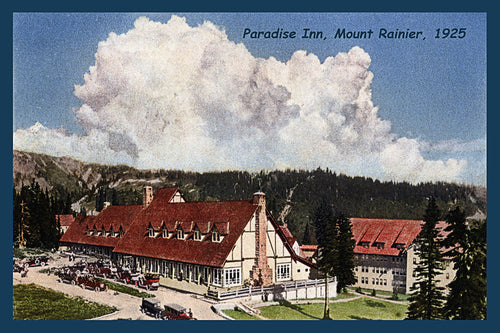 Mount Rainier Postcard 1925 - 4